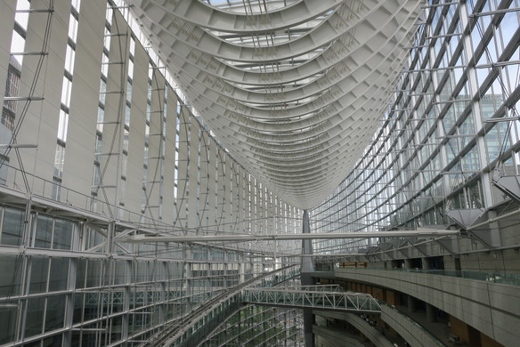 Modern Curves - Tokyo, Japan