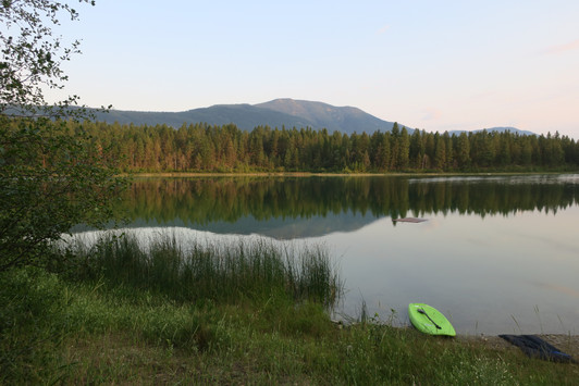 Lake Reflections - Skookumchuck, BC Canada