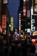 Night Lights in Shinjuku - Tokyo, Japan