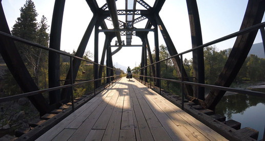 Bridge Shots from the GoPro - BC, Canada