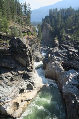 Cascade Falls - Cristina Lake, BC Canada