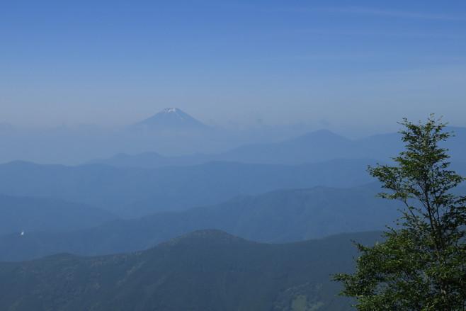 Fuji from Afar - Okutama, Japan