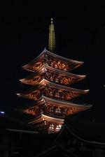 Asakusa by Night - Asakusa, Japan