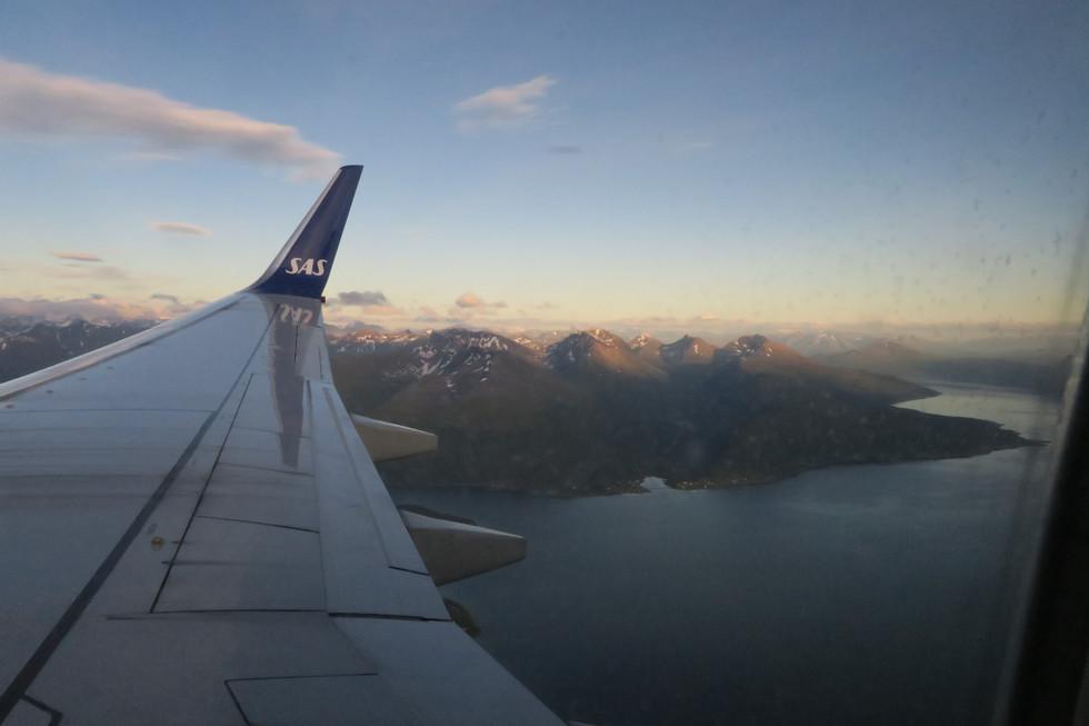 We have arrived in Tromso!
