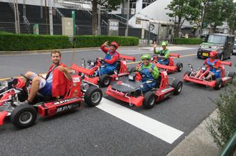 Mario Cartin' in Tokyo - Asakusa, Japan