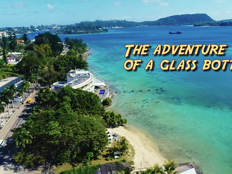 THE ADVENTURE OF A GLASS BOTTLE