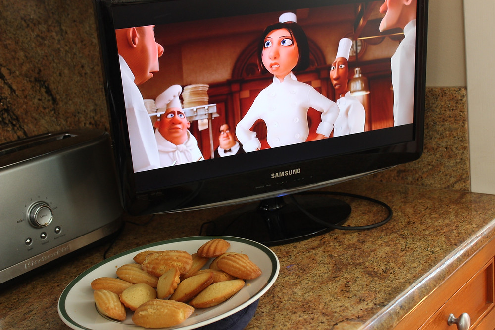 Ratatouille watching in the kitchen