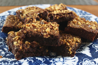 brownies with walnuts