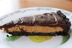 Peanut butter chocolate oreo tart