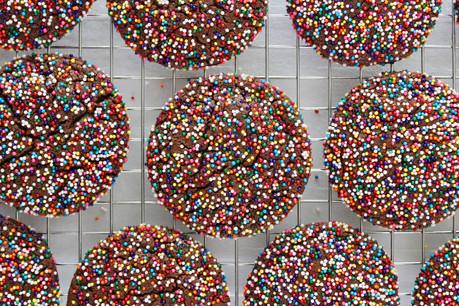 Chocolate Sprinkle Sugar Cookies