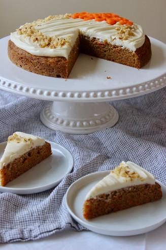 single layer carrot cake