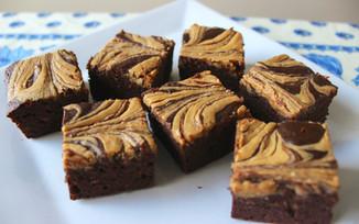 secret ingredient pb brownies