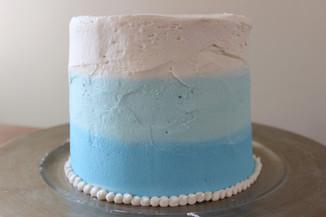 baby birthday cake