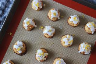 lemon coconut macarons (vegan)