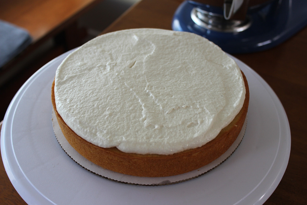 adding layer of frosting