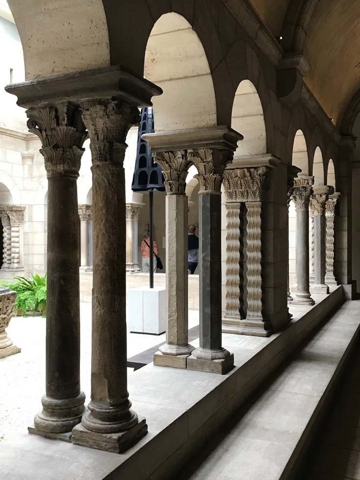 'HEAVENLY BODIES' at the MET - THE CLOISTERS