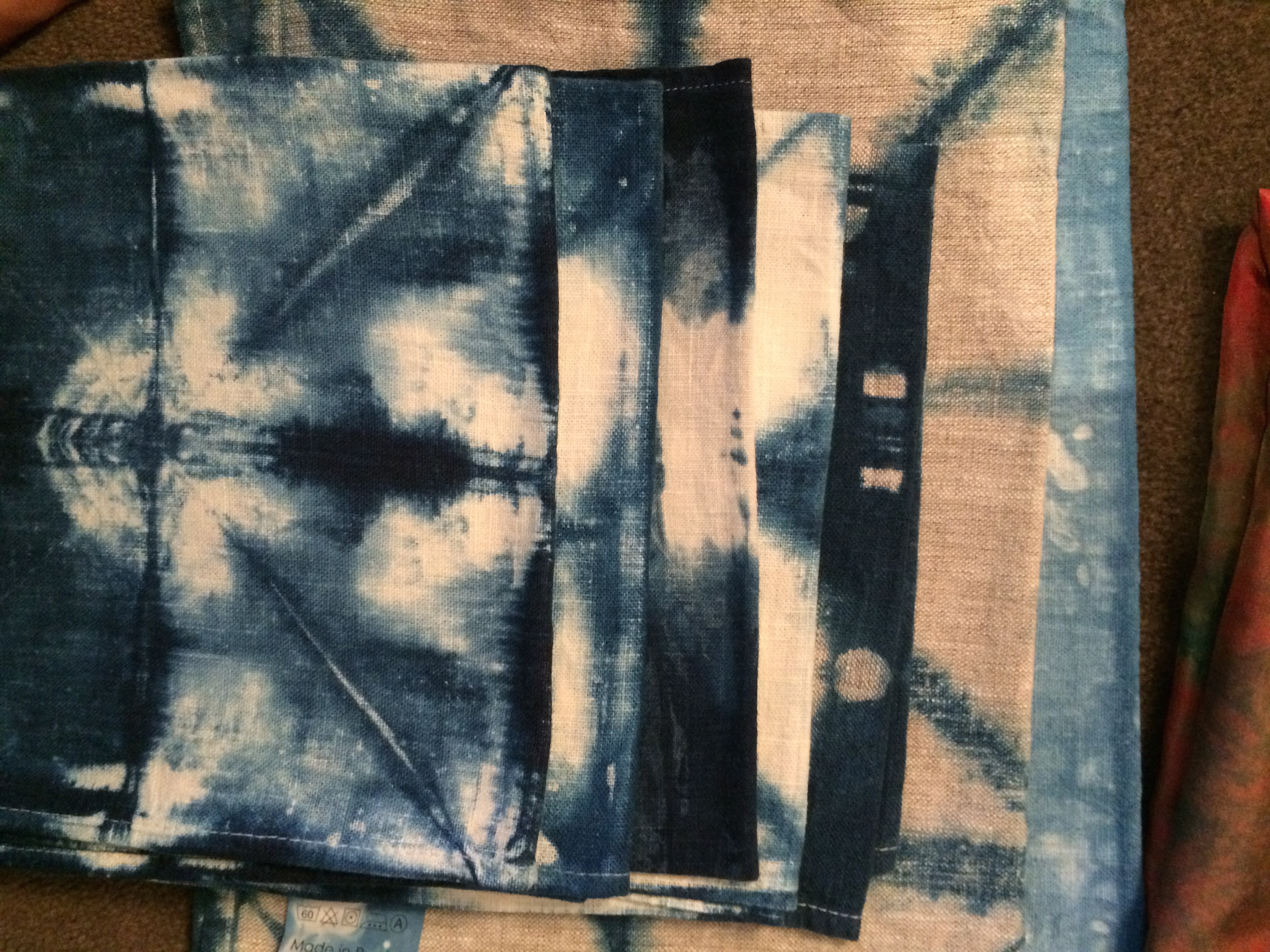 Indigo Dyeying Blue