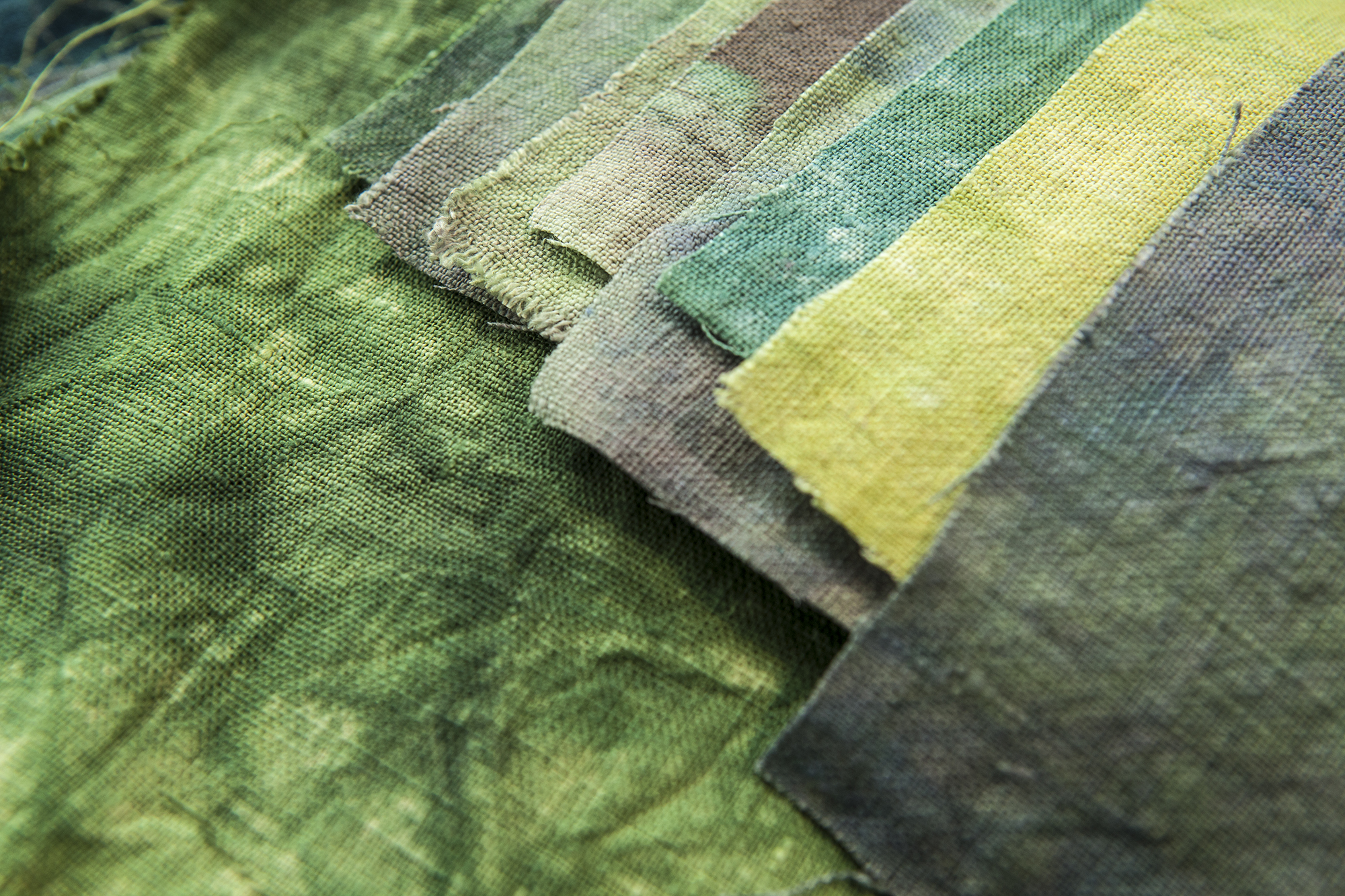 Parfait dyed napkins