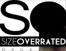 size overrated logo