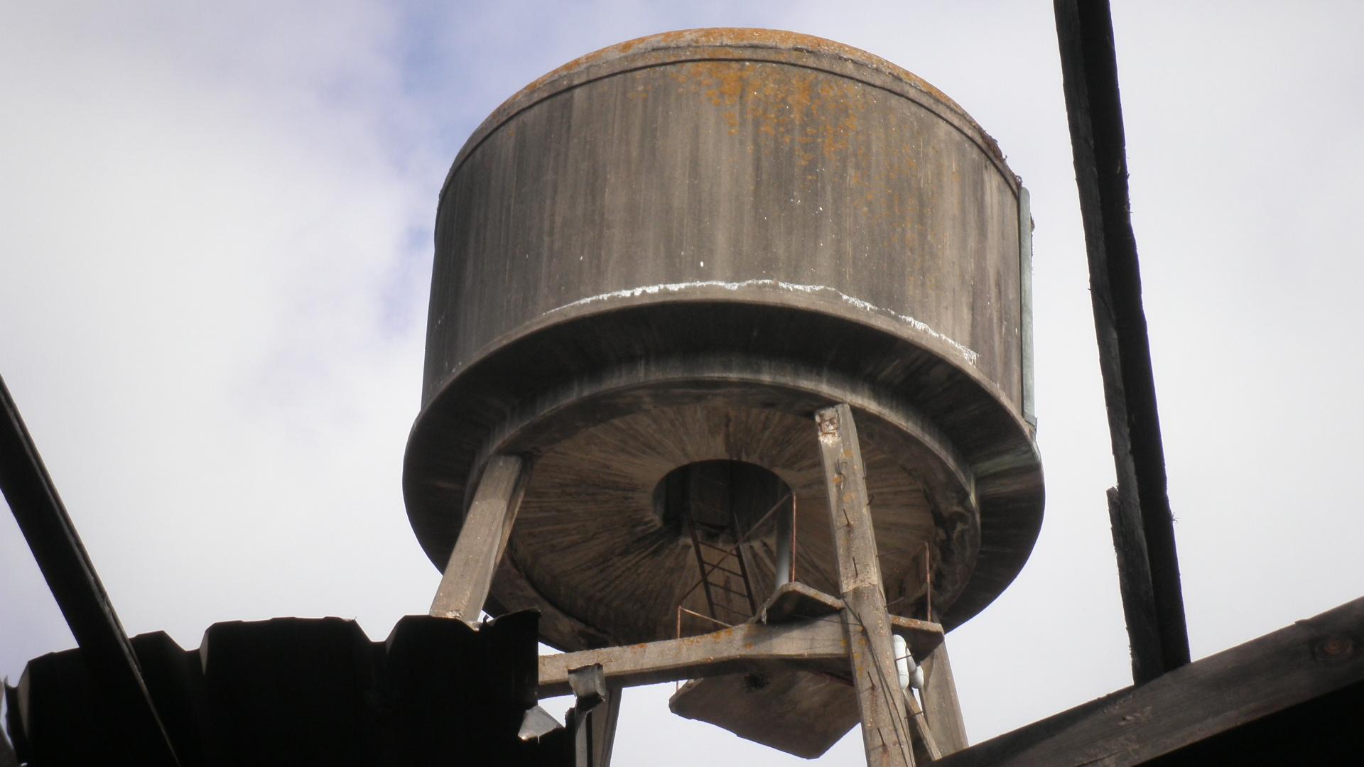 Depósito de auga
