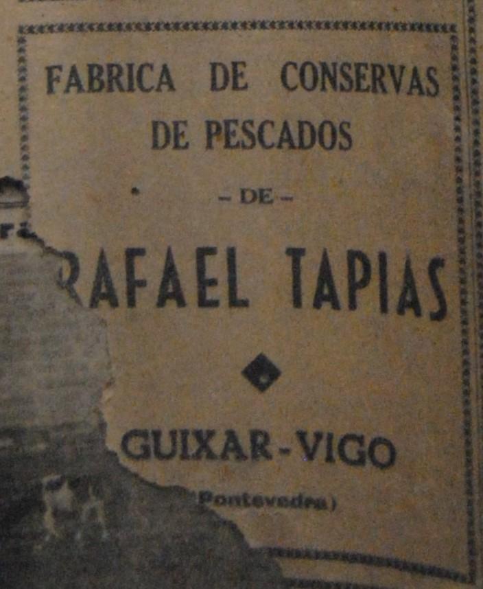Rafael Tapias, conserveira.