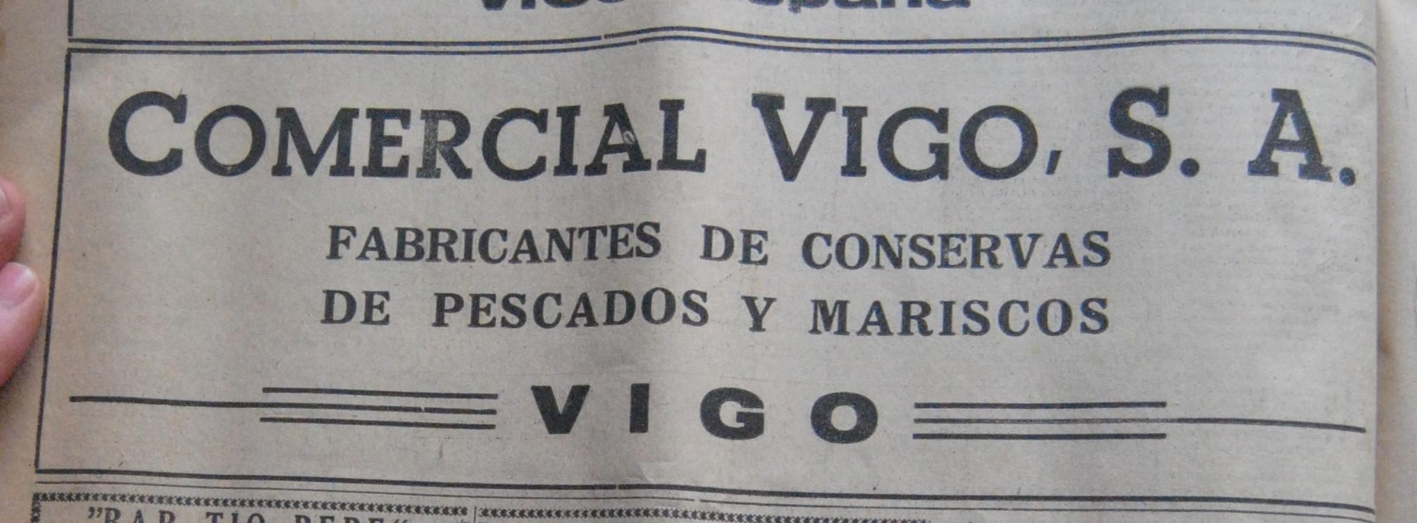 Comercial Vigo, conserveira