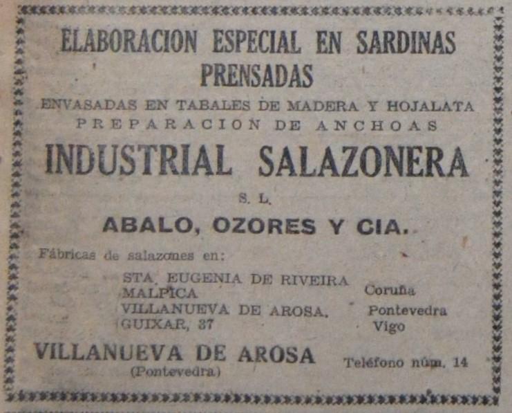 """Industrial Salazonera"", salga."