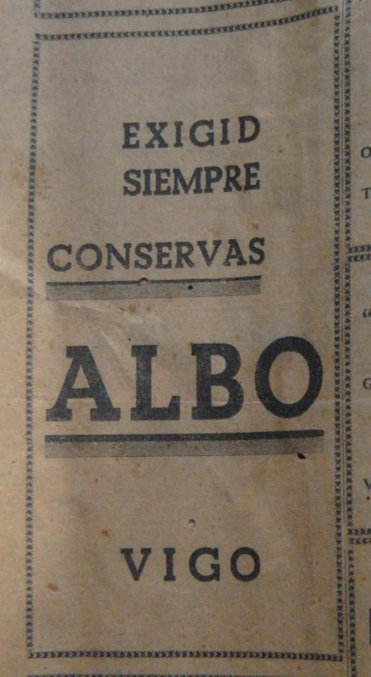Conservas Albo