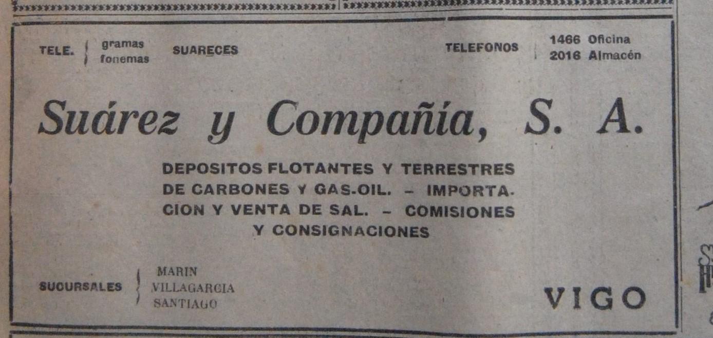 Suarez & Cía, consignatario.