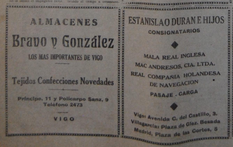 """Bravo & Glez."" e ""Estanislao Duran"""