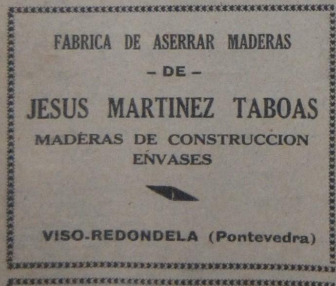 Serradoiro de Jesus Martínez Taboas