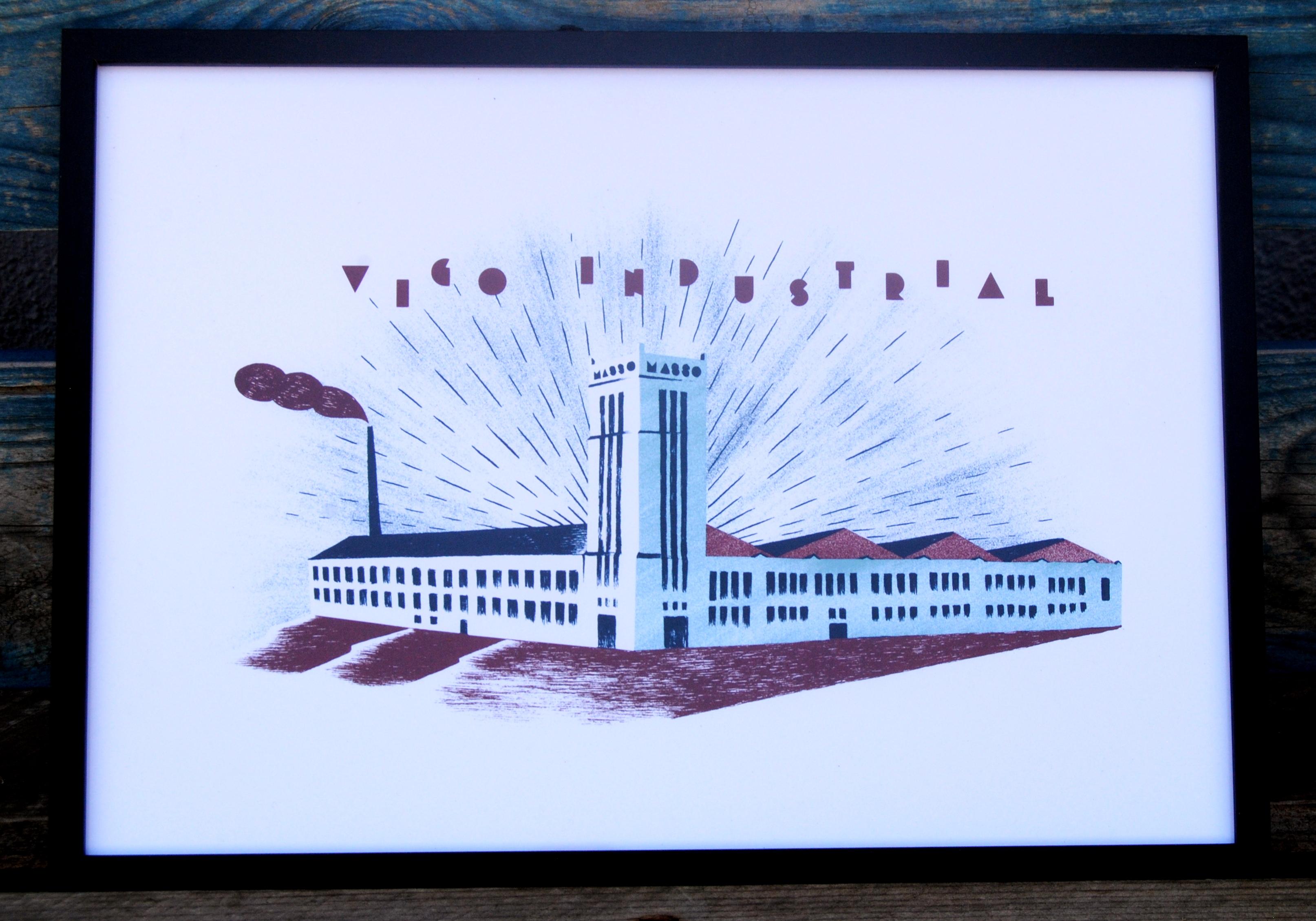 Logo Vigo Industrial con marco