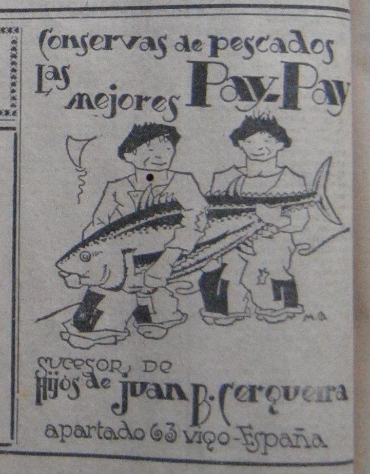 """Pay-Pay"", conservas."