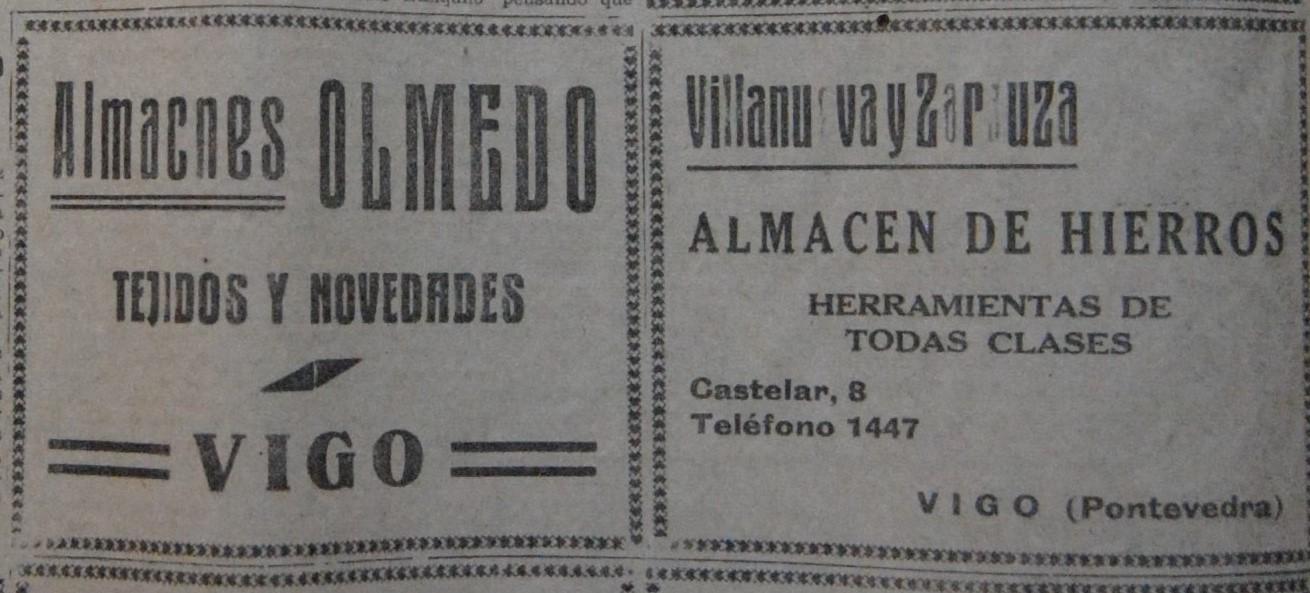 """Olmedo"" e ""Villanueva & Zarauza"""