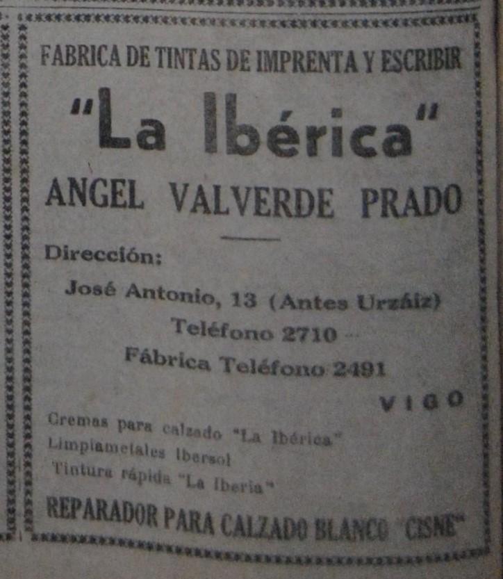"""""""La ibérica"""", química."""