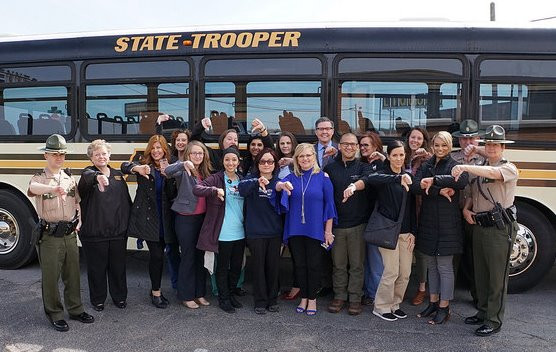 THP Distracted Driving Bus Tour 2018