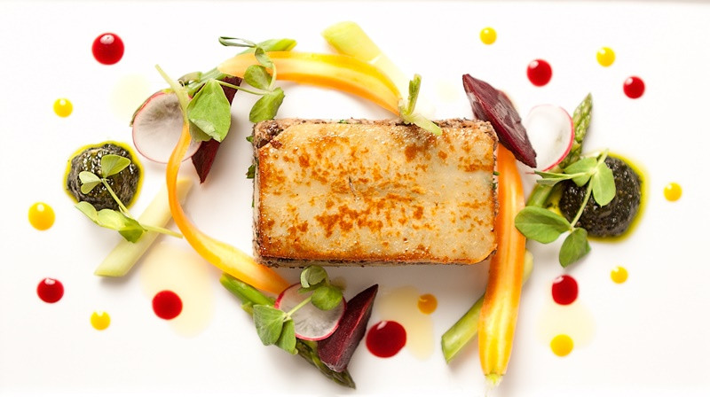 Example dish from Appetite Direct Catering Company based in Edinburgh Scotland