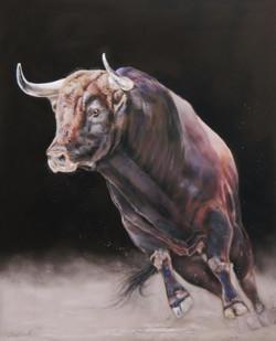 La charge du taureau