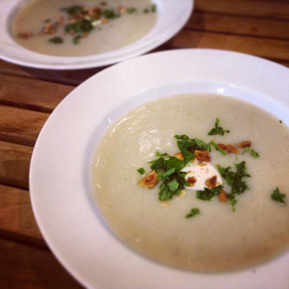 Jerusalem Artichoke Soup a delicious winter warmer