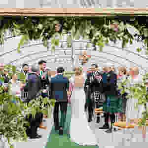 Wedding Couple at Colstoun East Lothian Scotland