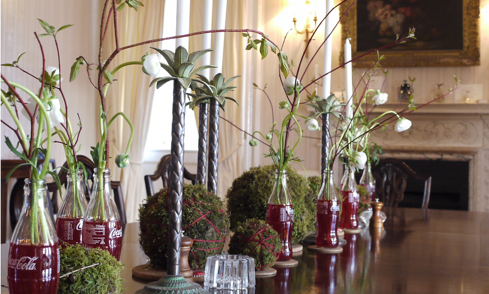 Colstoun House Dining Room - Corporate Event Dining Experience.