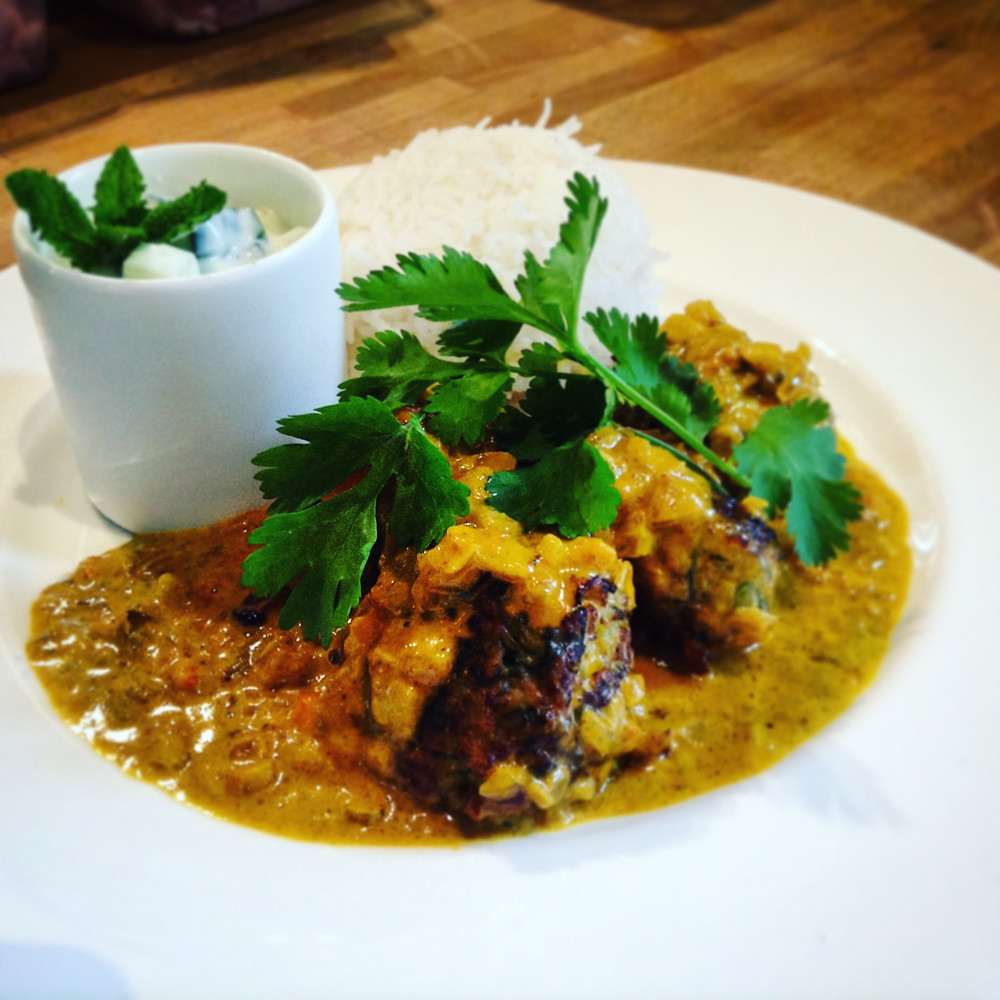 Delicious Indian Food at Colstoun Cookery School