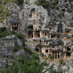 Поход на развалины древнеликийского города Олимпос