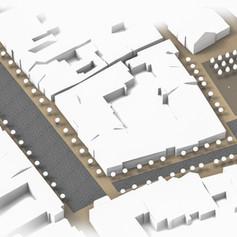 Pisek square revitalization