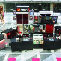 Prodejní stánek Nescafé