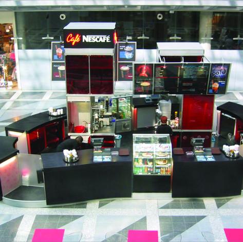 Nescafe stand