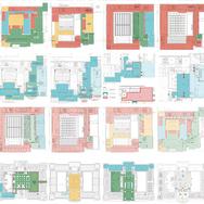 Orientační systém hlavní i nové budovy Národního muzea