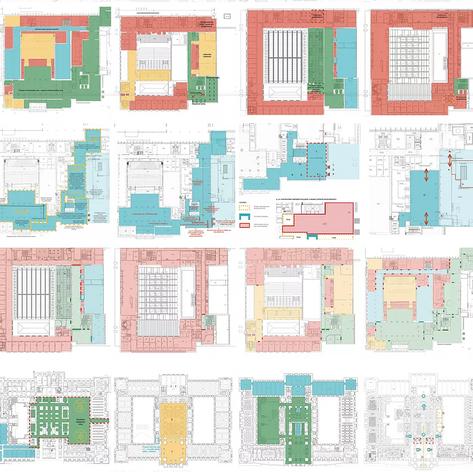Návrh řešení návštěvnického provozu v hlavní a nové budově Národního muzea