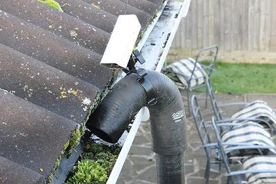 The Skyvac stystem is waterless & uses a high pressure vacuum