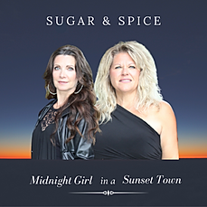 midnight girl in a sunset town promo pic
